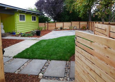Horizontal Wood Fence Contractor