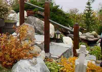 Hardscape Stair Installation