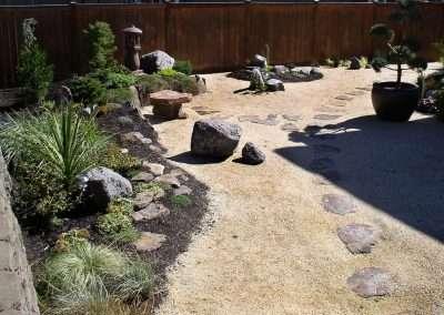 Minimalist landscaping