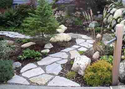 Stone Path Landscape Contractor