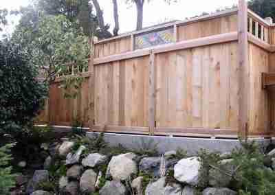 Custom wood fence in Tacoma